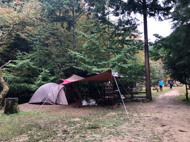 キャンプサイト 見逃した